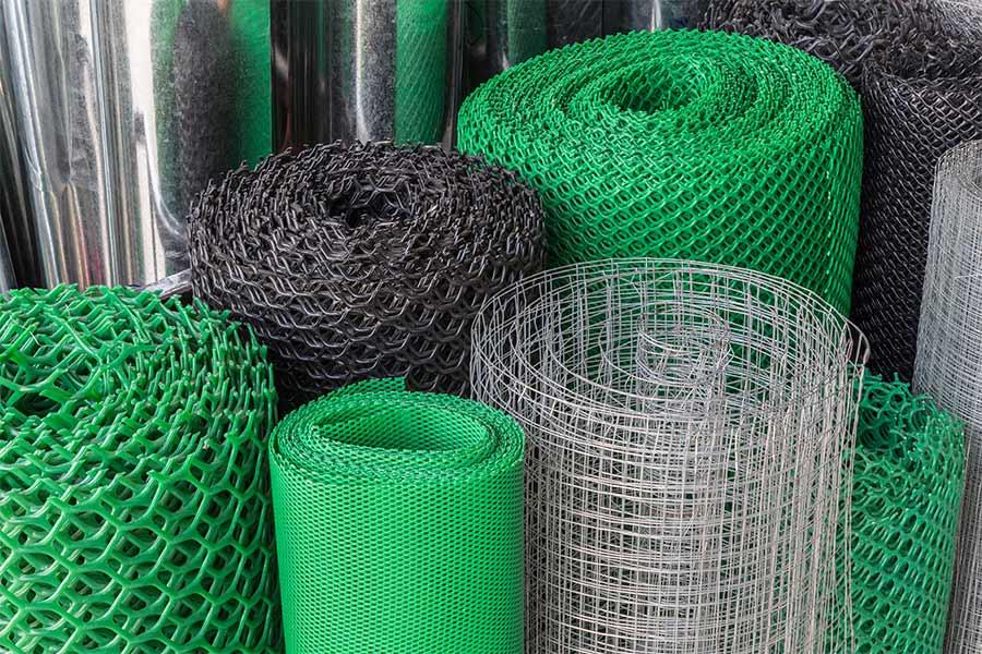 Vendita reti per recinzioni termosaldate, in reti in nylon e reti a griglia - Ferramenta Bresciani a Bedizzole